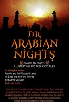 The Arabian Nights: 10 Classic Tales with 18 Illustrations and Free Audio Files