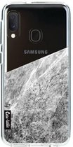 Samsung Galaxy A20e hoesje Marble Transparent Casetastic Smartphone Hoesje softcover case