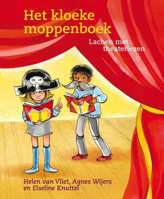 Applaus voor jou - theaterlezen - Het kloeke moppenboek - Helen van Vliet | Readingchampions.org.uk