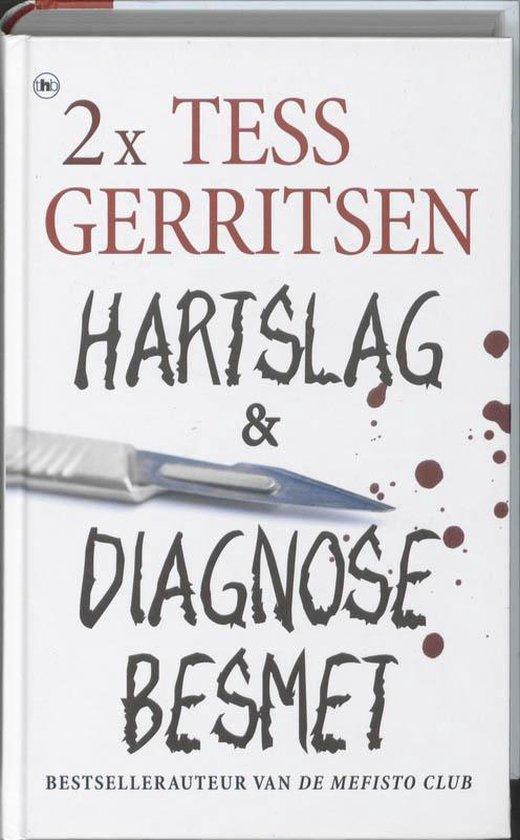2x Tess Gerritsen - omnibus / Hartslag & Diagnose besmet - Tess Gerritsen |