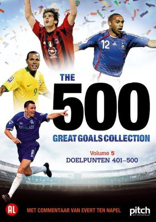 Cover van de film '500 Great Goals Vol.5'