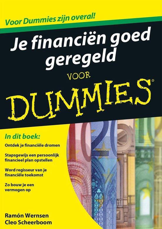 Je financiën goed geregeld voor dummies - Ramón Wernsen   Readingchampions.org.uk