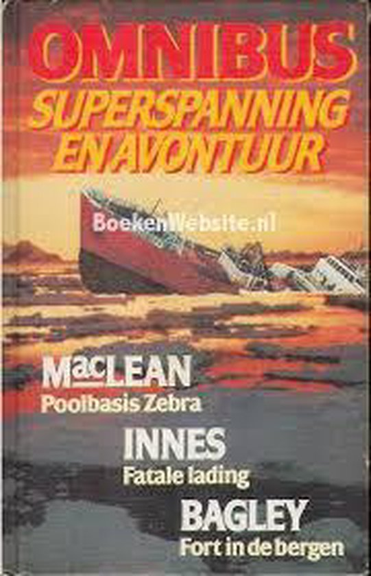 Omnibus superspanning en avontuur - Hammond Innes |