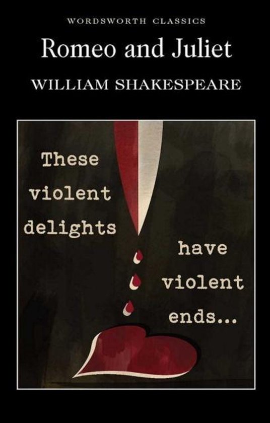 Boek cover Romeo and Juliet van William Shakespeare (Onbekend)