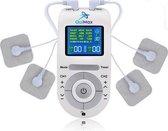 Elektroden Therapie inclusief 4 elektroden - Wit - Pijnverlichting - Massage En Relaxatie - Spierpijn - Pijn Aan De Zenuwen
