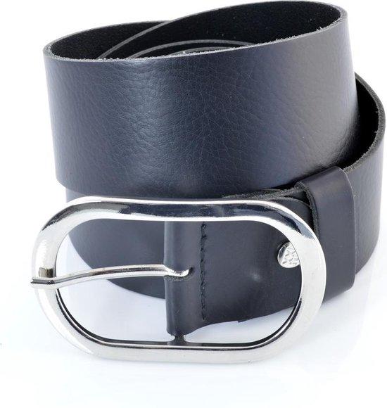 XXL Belts Damesriem Jeans 1647 – Zwart – 125 cm