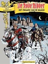 Boek cover Het zwaard van de maagd van Willy Vandersteen