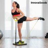 InnovaGoods Fitnessplatform voor Bil- en Beenspieren met Oefeningengids