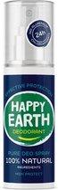 Happy Earth Pure Deodorant Spray Men Protect 100 ml - 100% natuurlijk