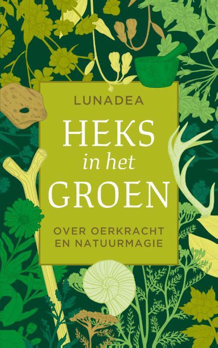Heks in het groen by Lunadea