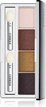 Clinique All About Shadow Eyeshadow Quad - 03 Morning Java - oogschaduw palette