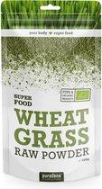 Purasana / Wheatgrass Powder Tarwegras Poeder 200 gram