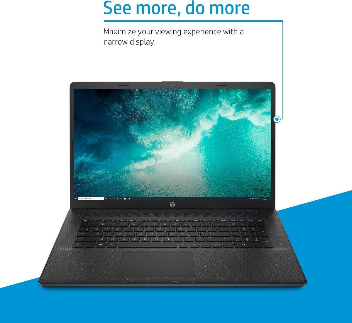 "HP 17-cn0170nd DDR4-SDRAM Notebook 43,9 cm (17.3"") 1920 x 1080 Pixels Intel® 11de generatie Core™ i3 8 GB 512 GB SSD Wi-Fi 5 (802.11ac) Windows 10 Home Zilver"