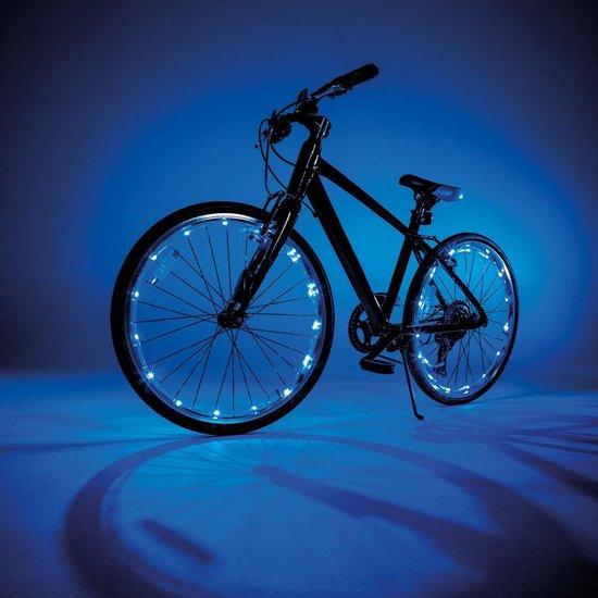 Wheely Bright Blauw - 2 stuks - Fietswielverlichting - Fun Masters