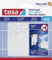 Tesa Klevende Spijker TegelMetaal 4Kg - 2 stuks