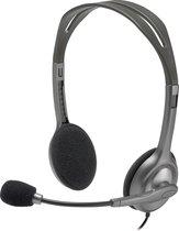 Logitech H110 headset - Dubbele 3,5MM aansluiting - Grijs