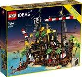 LEGO Ideas Piraten van Barracuda Baai - 21322