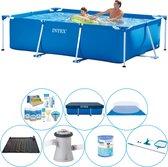 Intex Frame Pool Rechthoekig 260x160x65 cm - Zwembad Pakket