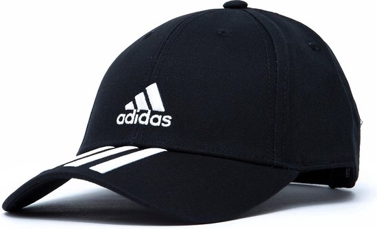 Adidas Baseball 3-Stripes Pet Zwart