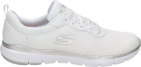 Skechers Dames Sneakers - Wit - Maat 39