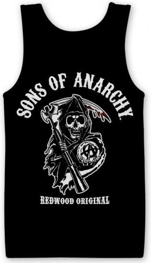 Sons Of Anarchy tanktop heren S