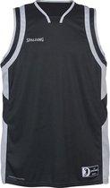 Spalding All Star Basketbalshirt - Antraciet / Zilver   Maat: L