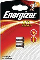 Energizer Batterijen A11 Alkaline 6v 2 Stuks