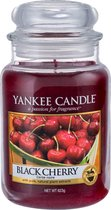 Yankee Candle Large Jar Geurkaars - Black Cherry