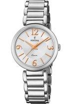 Festina F20212/1 Dames - Horloge - Staal - Zilverkleurig - 30,5mm