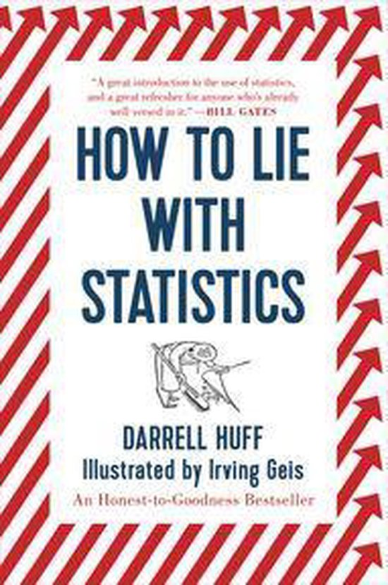 Boek cover How to Lie with Statistics van Darrell Huff (Onbekend)