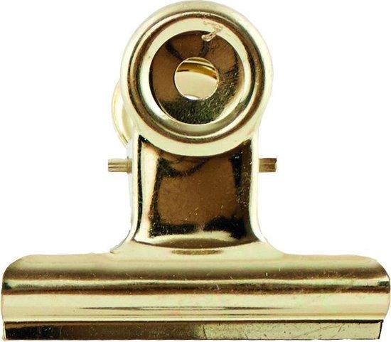 House Doctor Metalen klemmetje goud 5 centimeter