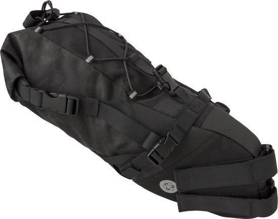 AGU Seat-Pack Venture Zadeltas Zwart - 20 L - HIVIS - Bikepacking