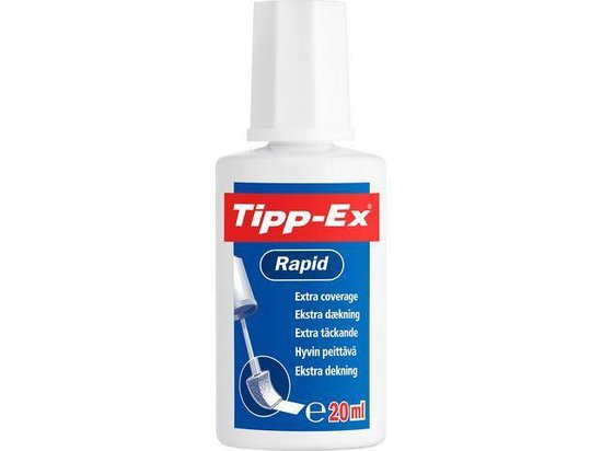 Tipp-Ex correctievloeistof Rapid - Tipp-Ex