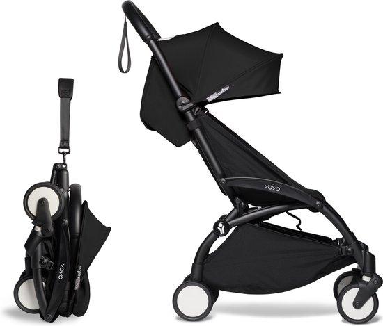 Product: Babyzen YOYO² buggy 6+ zwart frame zwart, van het merk Babyzen