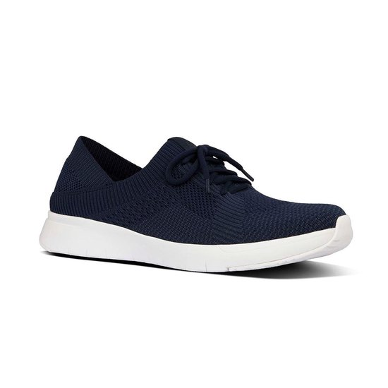 Fitflop™ Marble Knit Sneakers Midnight Navy Mix - Maat 37 XktqD9