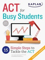 Boek cover ACT for Busy Students van Kaplan Test Prep