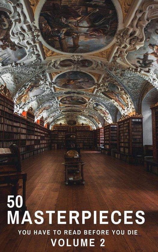 Boek cover 50 Masterpieces you have to read before you die vol: 2 van Louisa May Alcott (Onbekend)