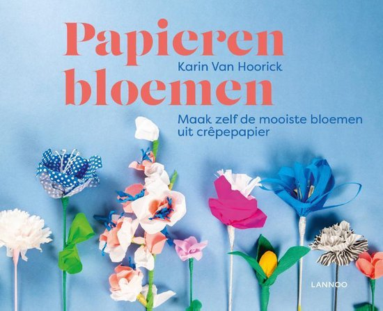 Papieren bloemen - Karin Van Hoorick   Readingchampions.org.uk
