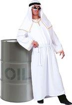 1001 Nacht & Arabisch & Midden-Oosten Kostuum | Sjeik El Olievat | Man | Maat 52-54 | Carnaval kostuum | Verkleedkleding