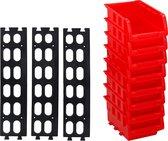 Kinzo 8 Stapelbakken met ophangrails