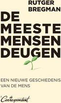Boek cover De meeste mensen deugen van Rutger Bregman (Paperback)