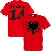 Albanië Adelaar Xhaka T-Shirt - M