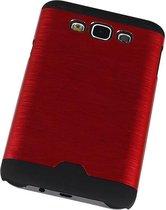 Wicked Narwal | Lichte Aluminium Hardcase voor Samsung Galaxy E7 Rood