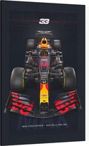 Max Verstappen (Red Bull Racing F1 2020) - Foto op Canvas - 40 x 60 cm