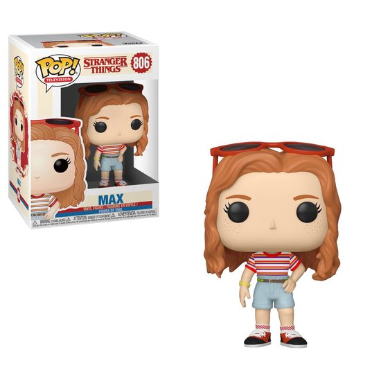 Pop Stranger Things Max Mall Outfit Vinyl Figure