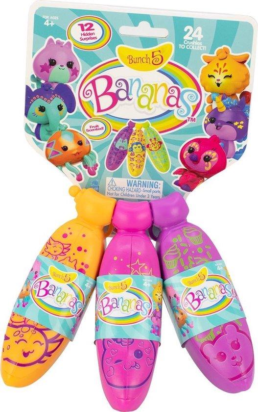 Afbeelding van het spel SPLASH-SPEELGOED Set van speelgoed van 3 Banana's gesplitst