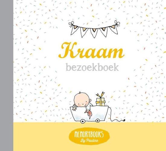 Boek cover Memorybooks by Pauline  -   Kraam bezoekboek van Pauline Oud