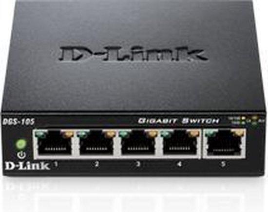D-Link DGS-105 - Switch - D-Link