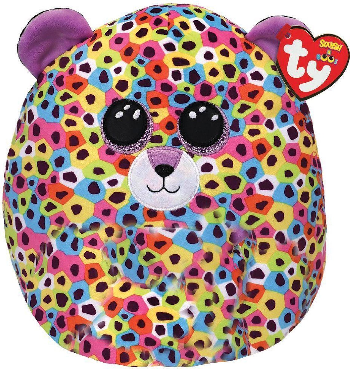 Ty Squish a Boo Giselle Leopard 31cm