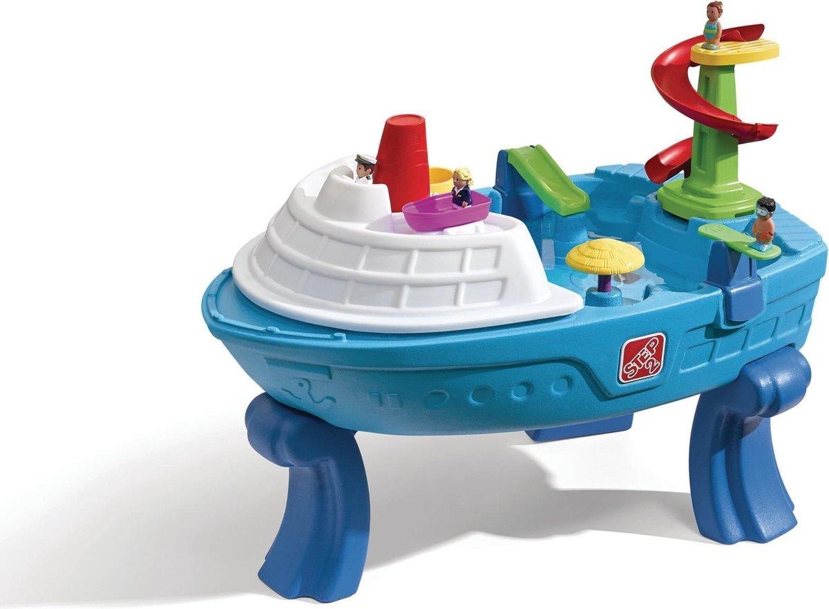 Step2 Zand & Watertafel Fiesta Cruise - Boot thema - Incl. deksel en 10 accessoires
